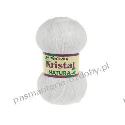 Włóczka Opus Natura Kristal - 100g - biały (kol. 150) Rękodzieło