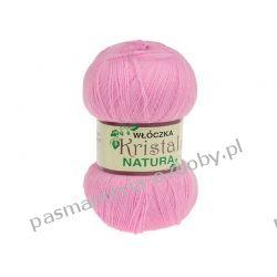Włóczka Opus Natura Kristal - 100g - różowy (kol. 20) Rękodzieło