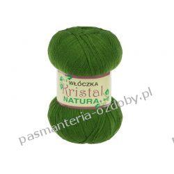 Włóczka Opus Natura Kristal - 100g - zielony (kol. 248) Rękodzieło