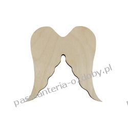 Drewniane skrzydła - anioł - 10x9 cm Pozostałe