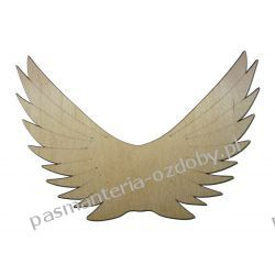 Drewniane skrzydła - anioł - 15x10 cm