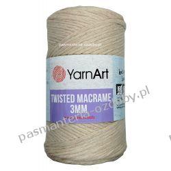 YarnArt - Twisted Macrame 3mm - beżowy (753) Szycie i dziewiarstwo