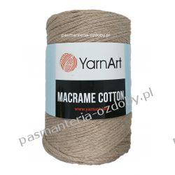 YarnArt - Macrame Cotton - ciemny beżowy (768) Szycie i dziewiarstwo