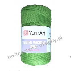 YarnArt - Twisted Macrame 3mm - zielony (787)