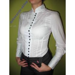 Elegancka bluzka, koszula z guzikami
