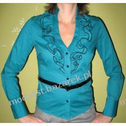 Elegancka koszula z falbanka