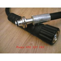 wąż KARCHER HD HDS przewód myjka 10m DN8 400bar wtyk łożyskowany