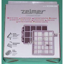 Zestaw filtrów do odkurzacza VC3300 Worki