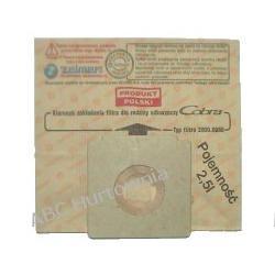 Worki papierowe 2000.0080 do odkurzaczy Okapy