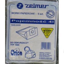 Worki papierowe 1500kpl do odkurzaczy Elektryczne