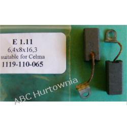 Szczotki węglowe kpl. 6,4x8x16,3 (E1.11) Filtry