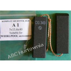 Szczotka węglowa 5x13,6x40 (A1) Lodówko - zamrażarki