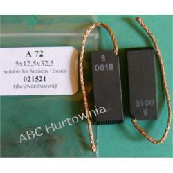 Szczotka węglowa 5x12,5x32,5 (A72) Lodówko - zamrażarki