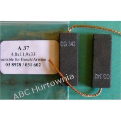 Szczotka węglowa 4,8x11,9x33 (A37) Lodówko - zamrażarki
