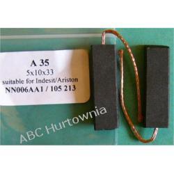 Szczotka węglowa 5x10x33 (A35) Kuchenki mikrofalowe