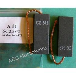 Szczotka węglowa 6x12,5x31 (A11) Części i akcesoria