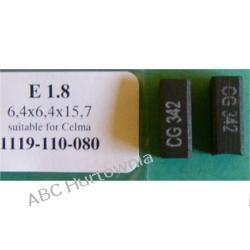 Szczotki węglowe kpl. 6,4x6,4x15,7 (E1.8, 2*SZ06) Filtry