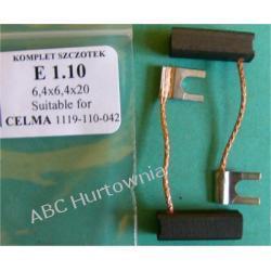 Szczotki węglowe kpl. 6,4x6,4x20 (E1.10)