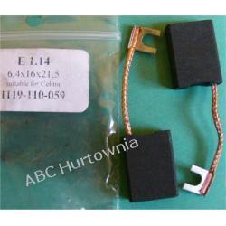 Szczotki węglowe kpl. 6,4x16x21 (E1.14) Kuchenki mikrofalowe