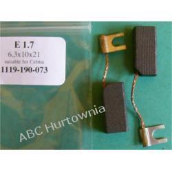 Szczotki węglowe kpl. 6,3x10x21 (E1.7)