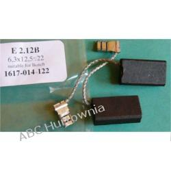 Szczotki węglowe kpl. 6,3x12,5x22 (E2.12) Lodówko - zamrażarki