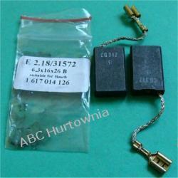 Szczotki węglowe kpl. 6,3x16x26 (E2.18) Kuchenki mikrofalowe