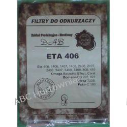 Worki papierowe ETA 406 do odkurzaczy zam EMB406K Części zamienne