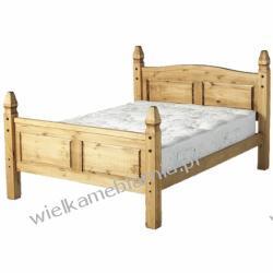 """Łóżko Mexican podwójne 4'6"""""""
