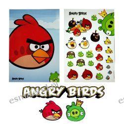 Angry Birds Notatnik Zeszyt 60 kartek 24 naklejki