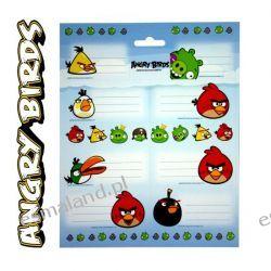 Angry Birds Naklejki na zeszyty 44szt kpl Oryginał