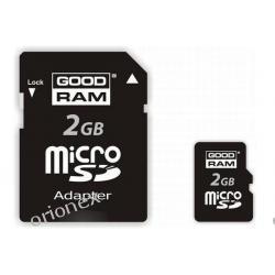 PAMIĘĆ SECUREDIGITAL GOODRAM 2GB MIC.+2 ADAPTERY