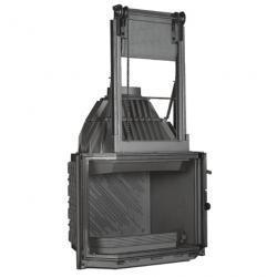 Wkład kominkowy Totalvision szyba pryzmatyczna, drzwi podnoszone ref. 820T/072