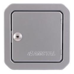 Drzwiczki rewizyjne 140x140mm kolor: srebrny