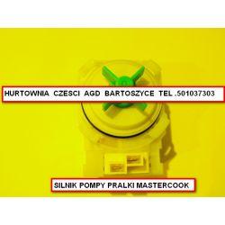 SILNIK ,POMPA PRALKI MASTERCOOK  PFD-1284 do podwojnych pomp z obudowa  --rozne pompy pralek-wszystkie rodzaje pomp