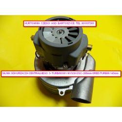 Silnik,TURBINA Ametek  odkurzacza centralnego 1400W 3 turbinowy wysokosc 208mm,srednica turbin  143mm -rozne silniki