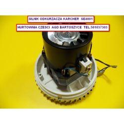 Silnik odkurzacza,TURBINA SSĄCA DO ODKURZACZY  KARCHER SE 4001  - średnica czapy A-144 mm-rozne silniki