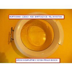 DRZWI KOMPLETNE Pralki BOSCH - pasuje do roznych modeli pralek np.WAB2028KPL/01 rożne drzwi ,RAMKI,szyby