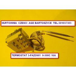 TERMOSTAT PIECA ,PIEC PIZZY PIZZA 0-300 C -3 fazy -6 podlaczen elektrycznych -ROZNE TERMOSTATY-WSZYSTKIE