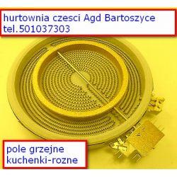 ceramiczna płyta grzejna (pole grzejne) elektryczna o średnicy 210/120 mm- FAGOR,MASTERCOOK,WHIRPOOL ,BOSCH,AMICA,INDESIT Pralki