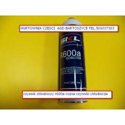 czynnik chlodniczy r600a-butla 420gr Lodówki