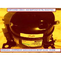 Sprężarka,KOMPRESOR BD35F do- lodówka samochodowa 12V/24V -na czynniku r134a-Rozne sprezarki Lodówki