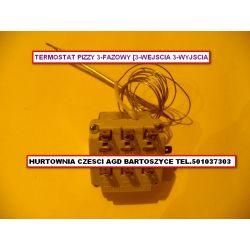 TERMOSTAT PIECA ,PIEC PIZZY PIZZA 0-470 C - 3 FAZOWY -ROZNE TERMOSTATY-WSZYSTKIE Kuchenki