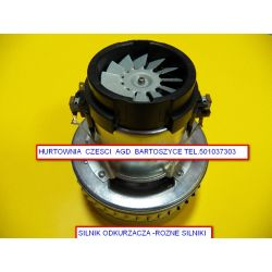 SILNIK  ODKURZACZA dwd-p71 -silnik 2-turbinowy WYSOKOSC 175mm,SREDNICA TURBIN  144MM -rozne
