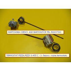 TERMOSTAT PIECA ,PIEC PIZZY PIZZA 0-455 C - 230v wzmocniony -ceramiczny -ROZNE TERMOSTATY-WSZYSTKIE Pralki