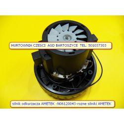 silnik AMETEK - N061200043  do odkurzaczy przemysłowych i piorących do pracy na sucho-mokro KARCHER  2501 - 2801  Kärcher A 2800 Kärcher A 2001 Kärcher A 2501 - JEDNOTURBINOWY-rozne silniki