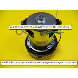 SILNIK  ODKURZACZA  -silnik 1-turbinowy WYSOKOSC 135mm,SREDNICA TURBIN  144MM -rozne