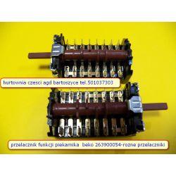 Przełącznik,WYLACZNIK  funkcji do piekarnika BEKO 263900054 ,8 -POZYCJI -ROZNE przelaczniki-WSZYSTKIE AGD wolnostojące