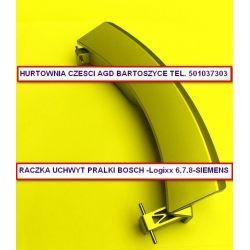 UCHWYT,RACZKA PRALKI - Bosch Logixx 6, 7, 8, 9 Siemens-WAS,WM-pasuje do roznych modeli pralek patrz opis -uchwyty PRALEK