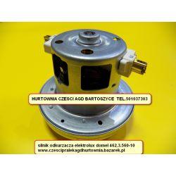 Motor Silnik TURBINA odkurzacza elektrolux Domel  462.3.560-10- patrz wykaz pasujacych modeli lub pytaj - WYSOKOSC MM ,średnica czapy-- JEDNOTURBINOWY-rozne silniki Części zamienne