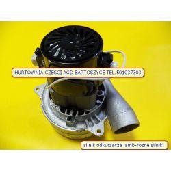 Silnik,TURBINA odkurzacza  Ametek-LAMB 230 V/1400W- 2 turbinowy wysokosc 190mm,srednica turbin 144mm -rozne silniki Części zamienne